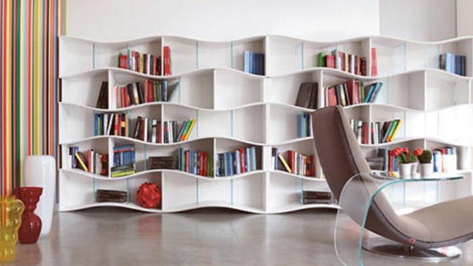 Tasarım Harikası Kitaplıklar!