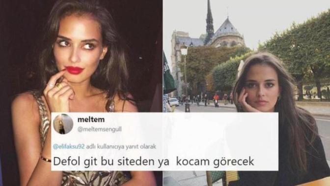 Ferrari Parçalayan Türk Model Twitter Açtı, Ortalık Alev Aldı!