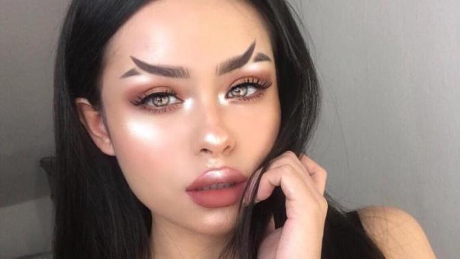 """""""Şu Kaşları Bir Rahat Bırakın"""" Dedirtecek Yeni Instagram Modası: Balık Kuyruğu Kaşlar!"""
