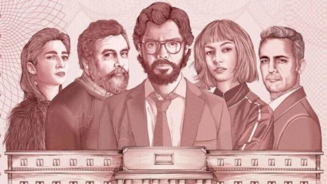 Son Zamanların Yıldızı Parlayan Yabancı Dizisi: La Casa De Papel!