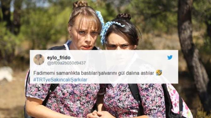 TRT'nin Şarkı Yasağını Tiye Alan Öneri Tweetleri