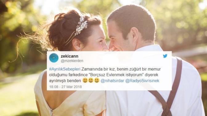 Twitter Kullanıcılarının Paylaştığı Birbirinden Garip Ayrılık Sebepleri