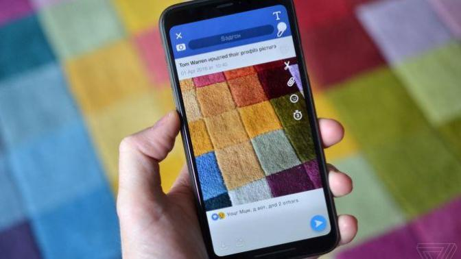 Snapchat 1 Nisan'da Facebook'u Feci Trolledi