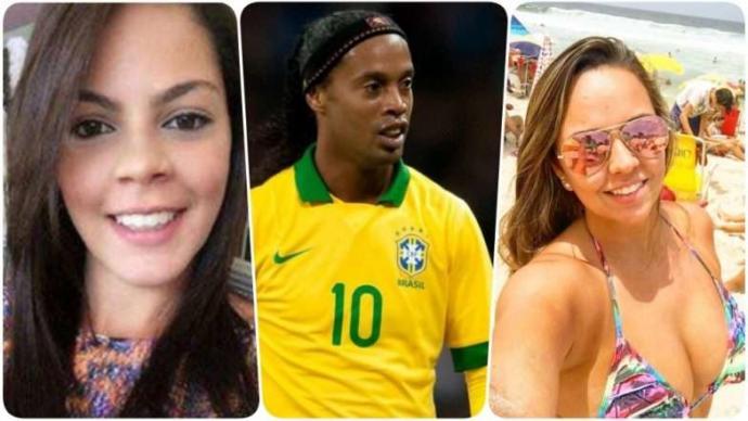 Aşk Üçgeninde İki Arada Bir Derede Kalan Ronaldinho İki Kadınla Birden Evleniyor