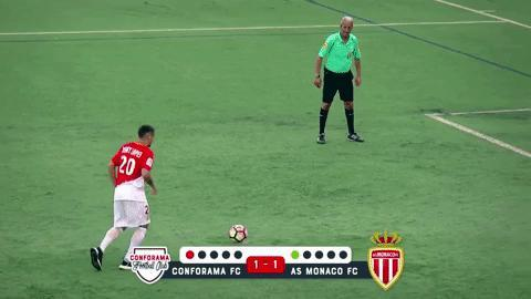 Monacolu 5 Futbolcu 55 Minik Futbolcuyla Maça Çıktı
