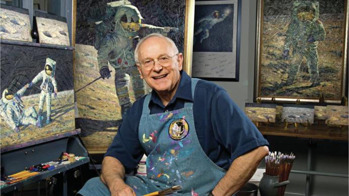 Ayda Yürüyen Dördüncü Astronot Olan Alan Bean Hayatını Kaybetti