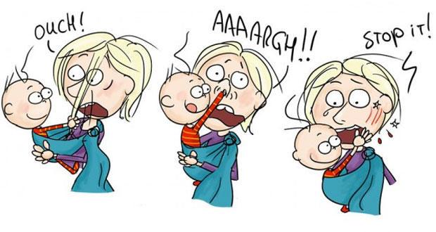 Dünyanın En Zor Mesleği Annelik ve En Eğlenceli İllüstrasyonlar!