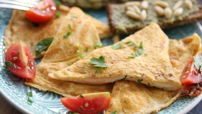 Lor Peynirli Omlet Kapama Nasıl Yapılır?