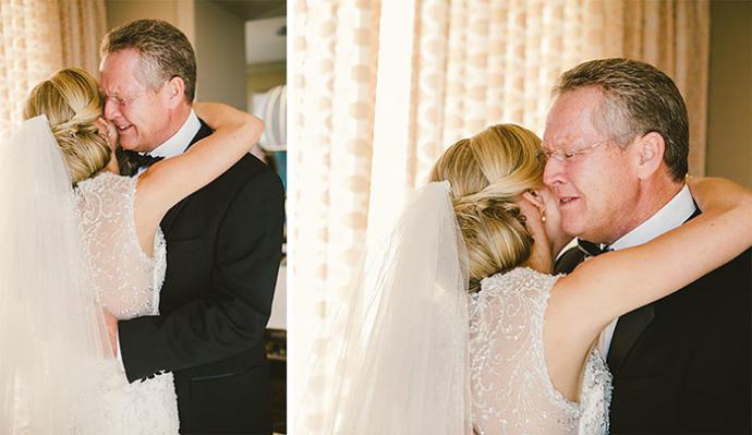 Koca Yürekli Babaların En Zor Anıdır Kızını Beyazlar İçinde Yeni Hayatına Uğurlamak!