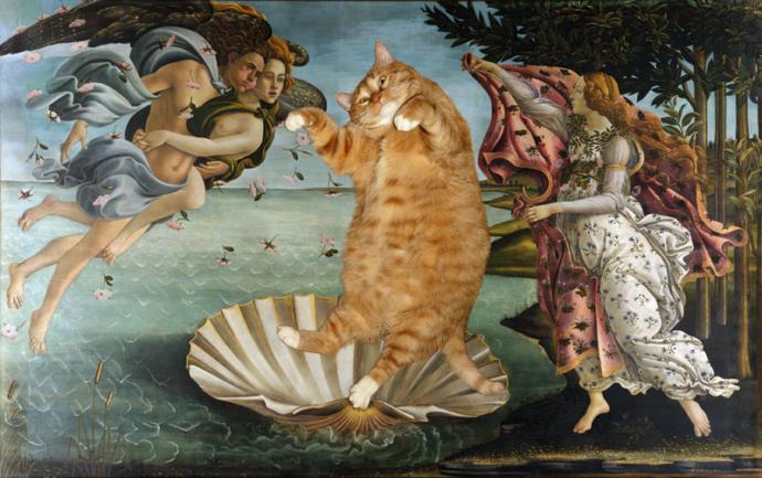 Venüs'ün Doğuşu-Sandro Botticelli