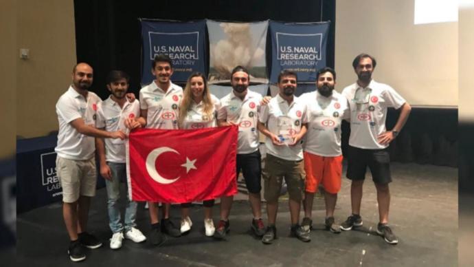 Türk Uzay Takımı Dünya İkincisi Oldu