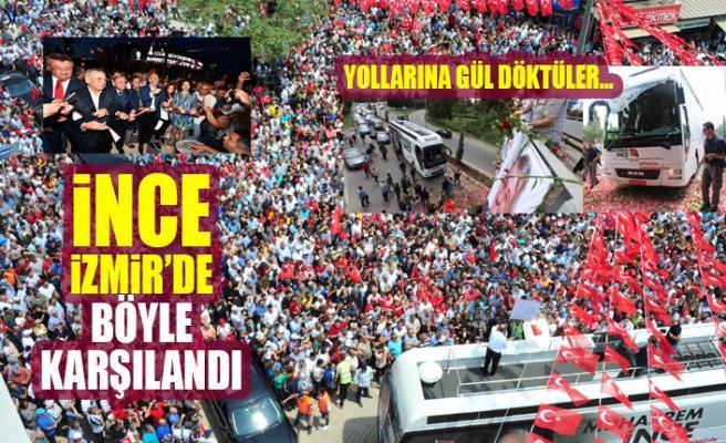 Cumhurbaşkanı Adayı Muharrem İnce Gündoğdu Meydanı'nda İzmirlilerle Buluştu