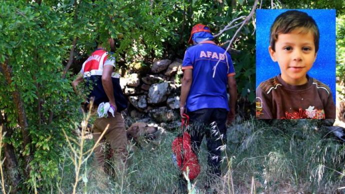Hatay'da 3 Gün Önce Kaybolan Küçük Ufuk'u Arama Çalışmaları Sürüyor