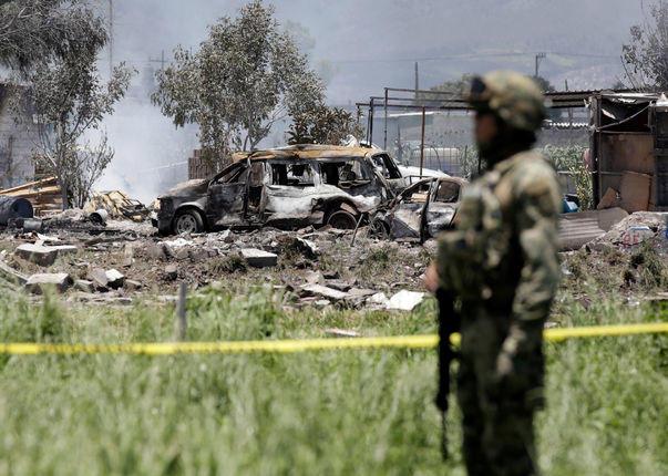 Meksika'da Meydana Gelen Havai Fişek Faciasında 17 Ölü, 31 Yaralı