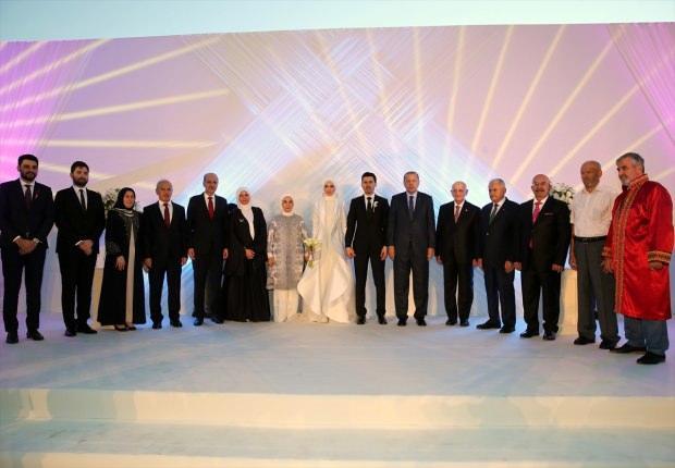 Devletin Zirvesi Nikah Töreninde Buluştu