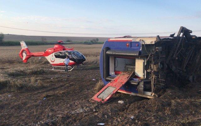 Tekirdağ'da Yolcu Treni Kazası: 24 Ölü 124 Yaralı Var