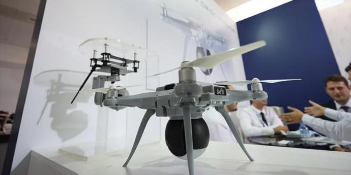Akıllı Yerli Drone Lapis CR-01 Trogon Görücüye Çıktı