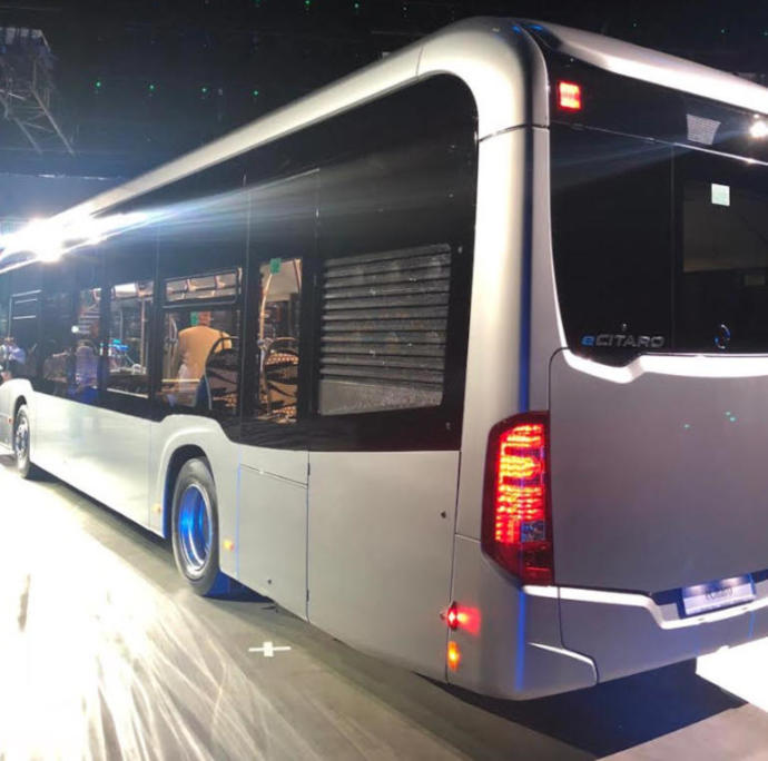Mercedes'in Elektrikli Otobüsü 'eCitaro' Yola Çıkıyor!