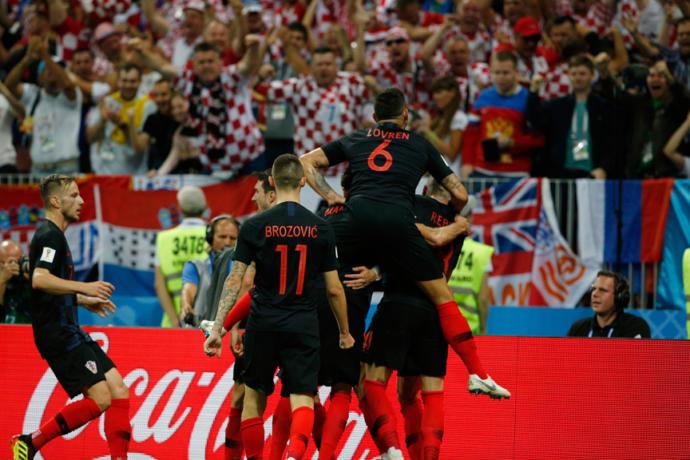 Hırvatistan Dünya Kupası Finaline Gol Attı