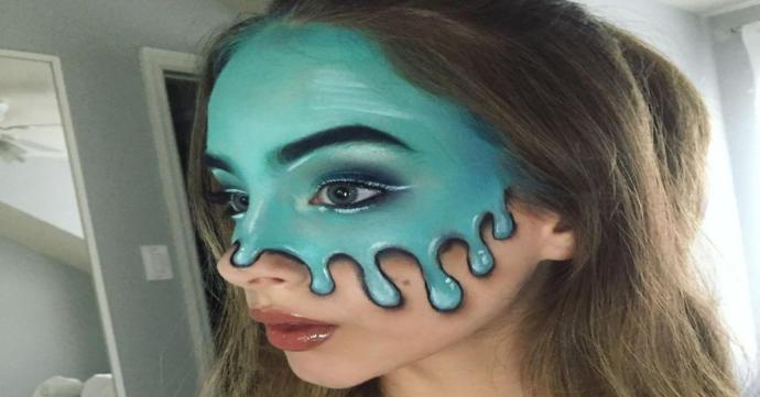 15 Yaşında Olan Makyaj Sanatçısı Kate Werner Tarafından Yapılan İlginç ve Korkutucu Çalışmalar!