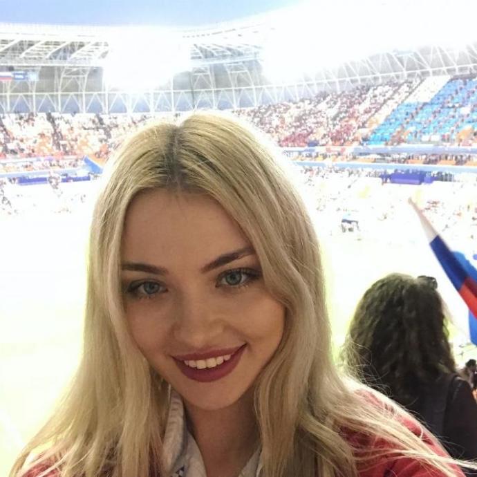 @nataliachekaykina 2018 Dünya Kupası'ndaki görevlilerden birisi :)