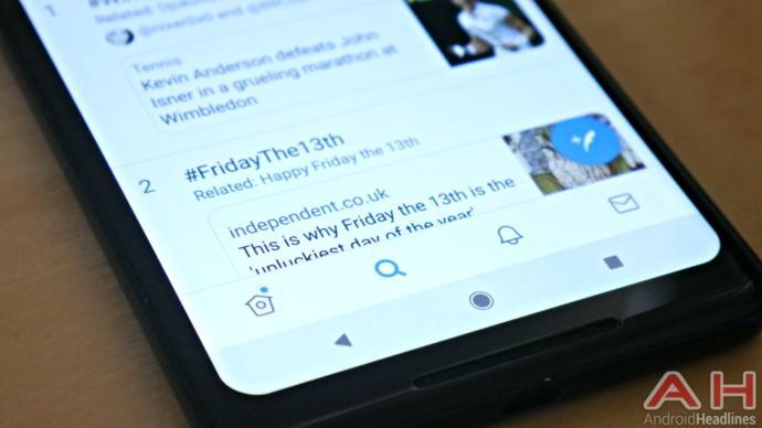 Twitter Android Kullanıcıları İçin Alt Gezinti Çubuğu Ekledi