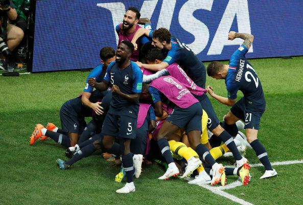 Dünya Kupası Fransa'ya Gitti