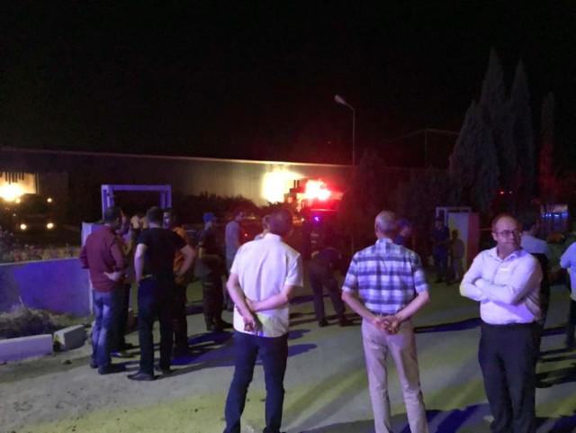 Son Dakika: Ankara'da Fabrikada Patlama