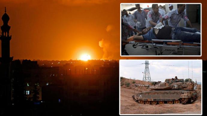 Son Dakika: İsrail Saldırı Başlattı