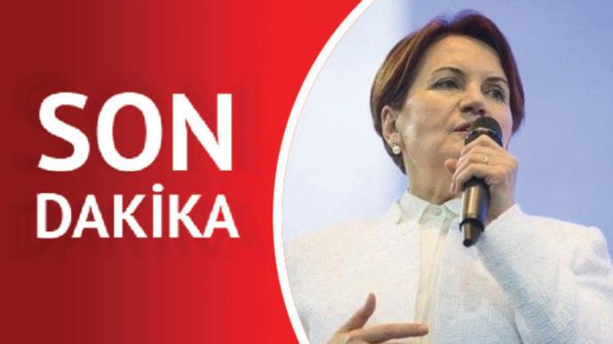 Meral Akşener İYİ Parti'den İstifa Etti