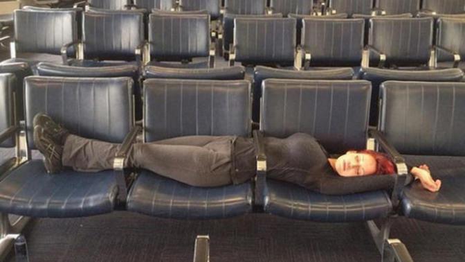 Havalimanlarında Karşılaşılan En Garip Görüntüler!