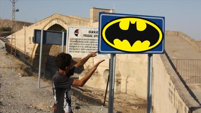 Batmanlı Vatandaşlardan Batman (Yarasa Adam) Atağı