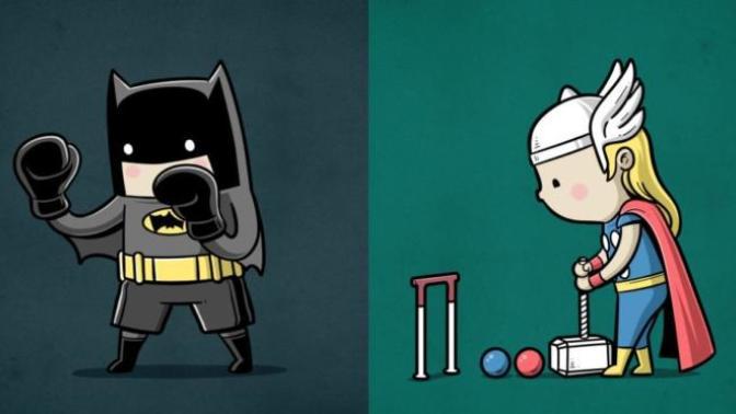 Süper Kahramanlar Süper Güçleriyle Spor Hayatına Atılsalardı Ne Olurdu?