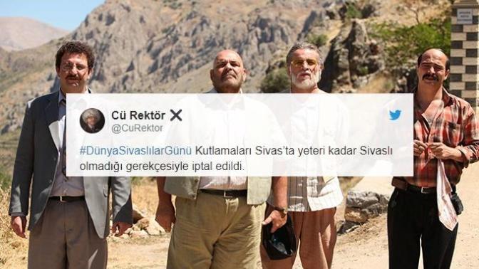 Dünya Sivaslılar Günü'ne İthafen Atılmış En Komik Tweetler