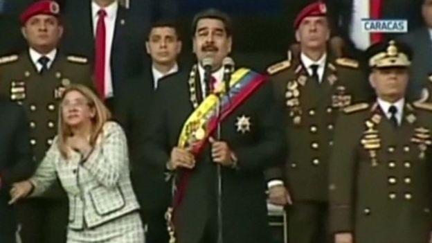 Venezuela Liderine Drone'lu Saldırı Girişimi