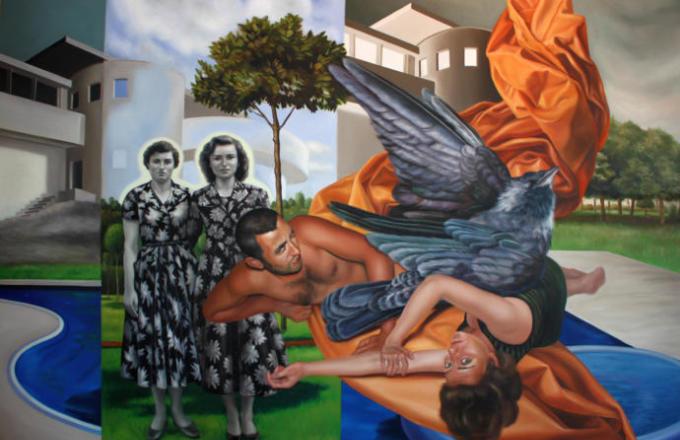 Başarılı bir Türk ressam : Zeynep Akgün