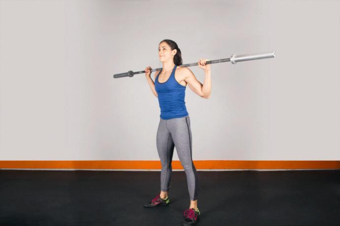 Kullanacağınız bar size Squat egzersizlerinde çok yardımcı olacak