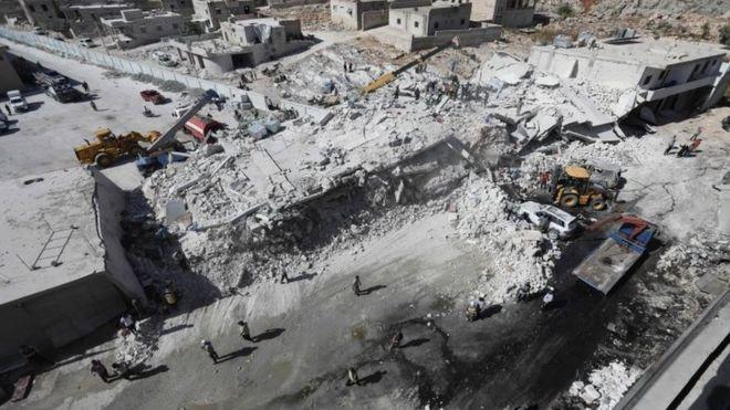 İdlib'de Silah Deposunda Patlama: 12'si Çocuk En Az 39 Kişi Öldü
