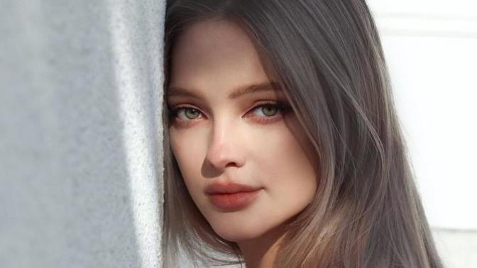 ''Bebek Gibi Kız'' Söylemini Gerçek Kılan Rus Güzel Olya Rush İle Tanışın!