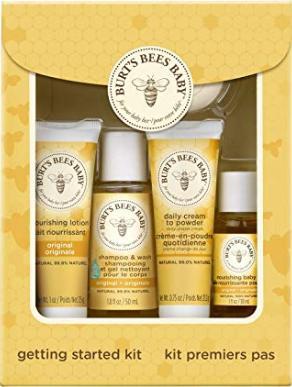 Burts Bees bebek Bee ilk adımları Kit 1 Box