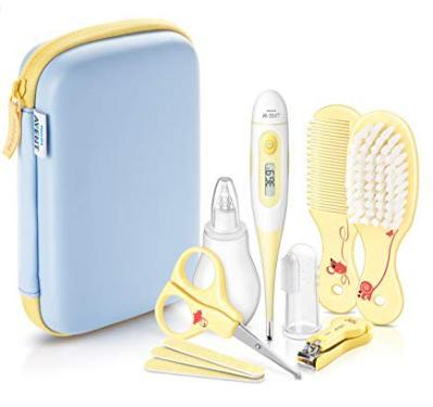 Bebek Temizlik Seti - Philips AVENT SCH400/00 Babypflege-Set Dahil tüm Pflegeartikel Sarı