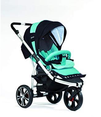 Bebek Arabası - Gesslein 103030355355 F3 Air+ eloxiert inklusive Softtragetasche C1