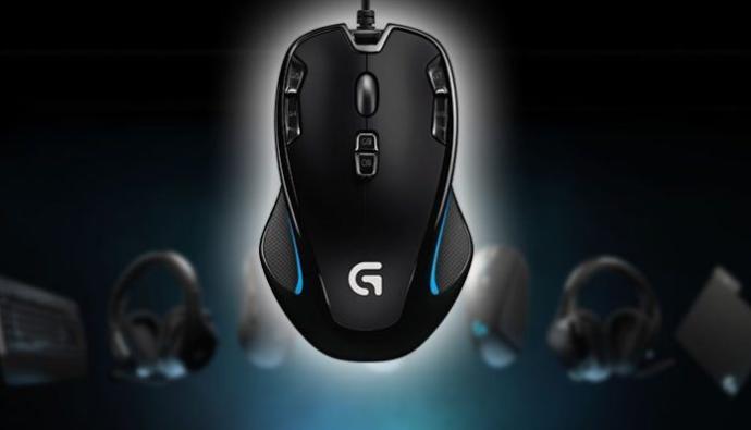 Logitech G300S Makrolu Oyuncu Mouse