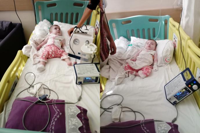 Görseldeki melek için alınan hava aspiratörü, sağlam bir şekilde bebeğe ulaştırıldı.