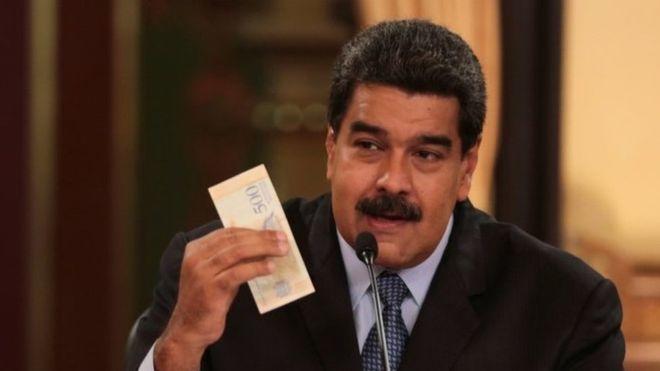 Venezuela, Parasından Beş Sıfır Attı