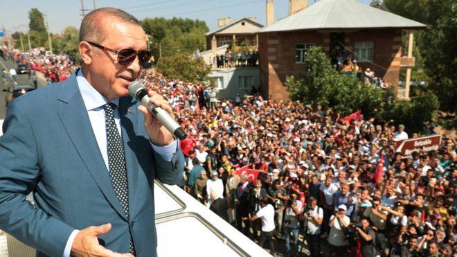 Erdoğan, Malazgirt Zaferi'nin 947. Yıl Dönümünde Konuştu
