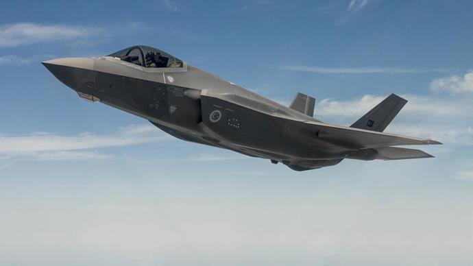F-35 Uçağı İle İlk Uçuş Gerçekleştirildi