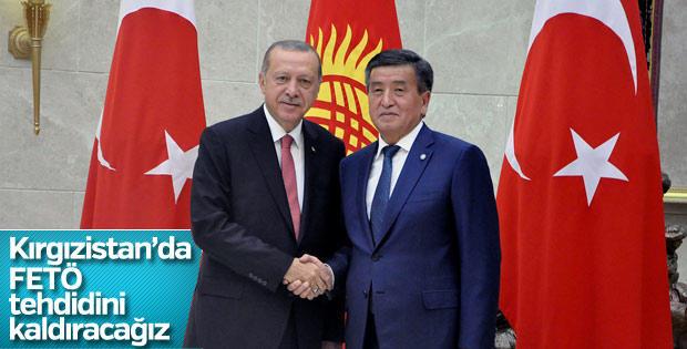Erdoğan, Kırgızistan Gezisinde FETÖ Yapılanmasına Değindi