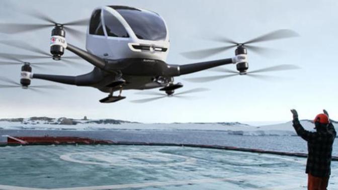 Yakın Geleceğimizin İlgi Çekici Ulaşım Aracı: ''EHANG 184'' Yolcu Dronunu Tanımaya Var mısınız?