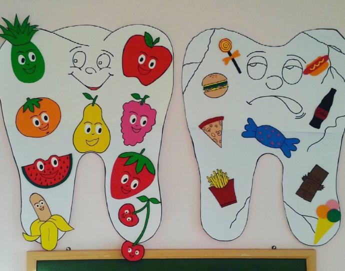 Sağlıklı yaşam sağlığın ilk durağı ağız sağlığı ve onun içinde düzenli beslenme